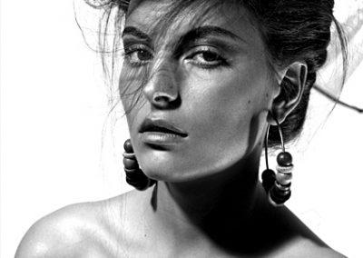 Portrait in klassischem Stil für Werbung